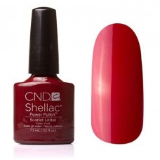 CND, SHELLAC SCARLET LETTER 7.3 ML