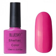 BLUESKY SHELLAC, ЦВЕТ № 519 HOT POP PINK