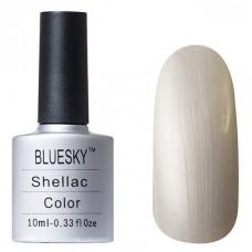 BLUESKY SHELLAC, ЦВЕТ № 532 SILVER CHROME COLOR