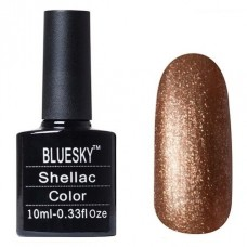 BLUESKY SHELLAC, ЦВЕТ № 544 TINSEL TOAST