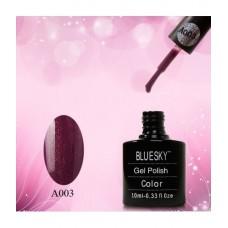 Bluesky shellac А 03 фиолетовый с блеском