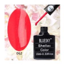 Bluesky shellac А 62 красный с микроблеском