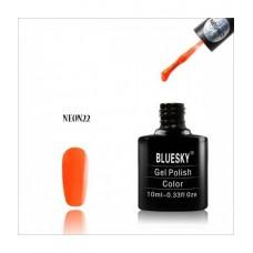 Bluesky shellac NEON 22 Яркий оранжевый