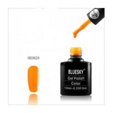 Bluesky shellac NEON 29 Тыквенно-оранжевый