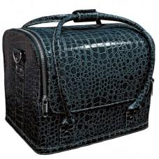 "Сумка-чемодан темно синяя ""Crocodile"""