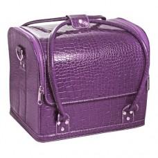 "Сумка-чемодан фиолетовая ""Crocodile"""