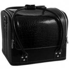 "Сумка-чемодан черная ""Crocodile"""