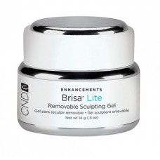 CND BRISA LITE, REMOVABLE SCULPTING GEL PURE WHITE 14 G