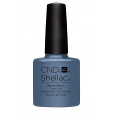 CND Shellac Дымчато-синий Denim Patch