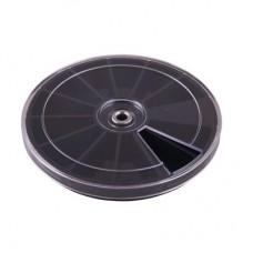 Каруселька для украшений,  8709 7, 3, черная, 12ячеек