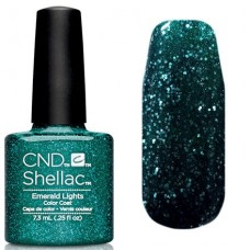 CND Shellac Emerald Light