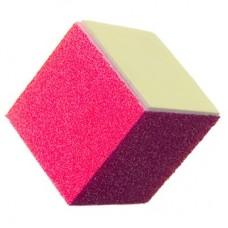 """Блок шлифовальный 6-сторонний с разной абразивностью """"Кубик"""""""
