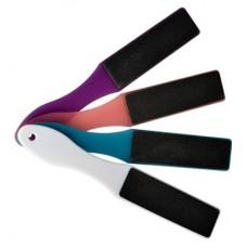 Пилка для стоп прямая 80/150 (цвет ручки вассорт.)